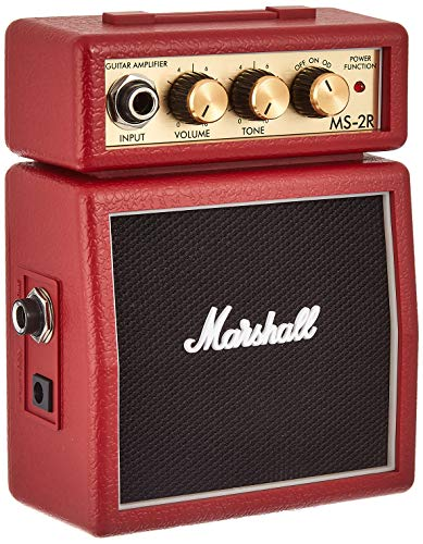 Marshall Mini Stack Series MS-2R  amplificatore combo per chitarra, colore: Rosso