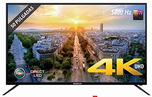 "TV LED 50"" INFINITON 4K INTV-50 1800Hz HDR USB HDMI"