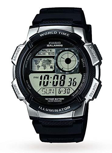 Casio Sports AE-1000W-1A2VEF, Orologio da polso Uomo, Grigio (Grigio/Nero)