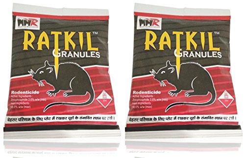 MMR Making Marvelous Advance Ratkil Granules Rat Killer Mouse Rodent Control (50gm x 2 Pieces)