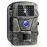 Victure Wildkamera mit Bewegungsmelder Nachtsicht 12MP 1080P Full HD Wildtierkamera mit Infrarot No Glow LEDs und IP66 Wasserdicht Beutekameras für Tierbeobachtung Haussicherheitsüberwachung