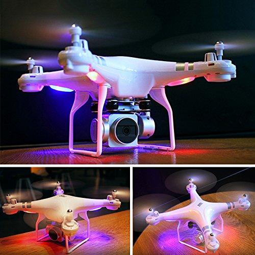 Cewaal WIFI FPV versione SH5 Drone con telecamera HD 720P, modalità senza testa Quadcopter con...
