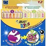 BIC Kids Mini Colour & Create Colouring Pens 12 Pack