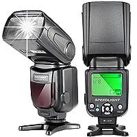 N.B.: Fotocamra NON inclusa!!!     Caratteristiche:  Potente Flash con alto numero guida No.38(ISO 100, 35mm), supporta le modalità M/MULTI/S1/S2. Riciclo di ricarica veloce: circa 2,9s. Volte di illuminazione: 100-1500 volte; Tempo Flash: 1/200s-...