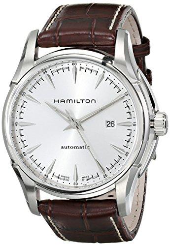 Hamilton Herren Analog Automatik Uhr mit Leder Armband H32715551