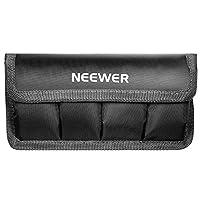 N.B. le batterie NON sono incluse!    Descrizione: La custodia per batterie di reflex digitali di Neewer è progettata per sostenere le pile in modo sicuro e comodo per i fotografi. Riesce a tenere le batterie che entrano nelle macchine fotografich...