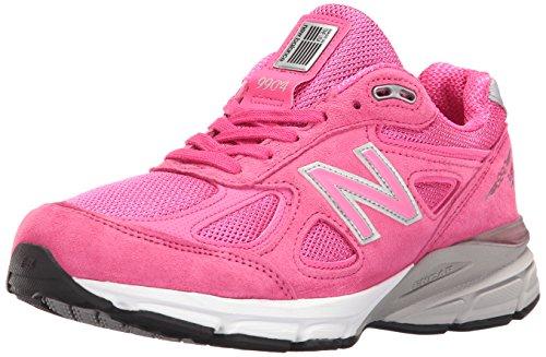 New Balance Women's w990v4 Running Shoes, Komen Pink, 5.5 B US