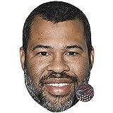 Jordan Peele (Smile) Maschere di persone famose, facce di cartone