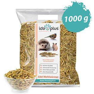 Ida-Plus-Edel-Mehlwrmer-getrocknet-1kg-Insekten-Snack-fr-Hhner-Igel-Hamster-und-Reptilien-Wildvogelfutter-Ganzjahresfutter-reines-Naturprodukt-ohne-Zusatzstoffe-Das-perfekte-Leckerli