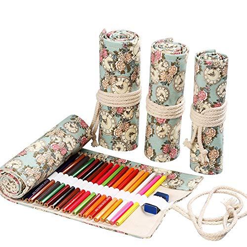 Pennello a matita impacchettato, borsa per portamatite a grande capacità colore portamatite per...