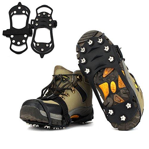 Crampones VICSPORTS Walk Traction Cleats Grips Para Caminar Sobre la Nieve y el Hielo