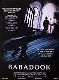 "Póster ""The Babadook"" (70cm x 100cm) + 2 marcos negros para póster con suspención"