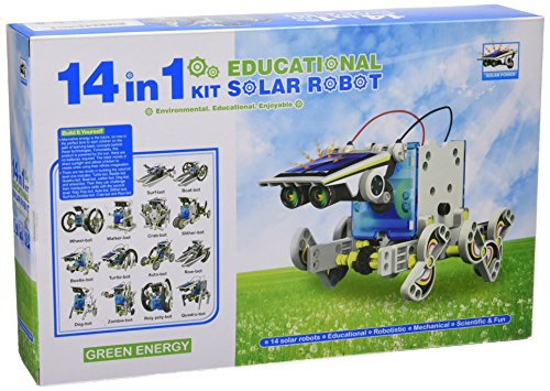 51ieRrIeJWL - CEBEKIT-C9921 CEBEK Kit Educativo Solar 14 EN 1, Color Amarillo (C9921