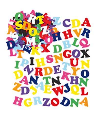 Baker-Ross-Selbstklebende-Filz-Buchstaben-im-Vorteilspack-zum-Basteln-fr-Kinder-ideal-fr-Schriftzge-und-als-Dekoration-550-Stck