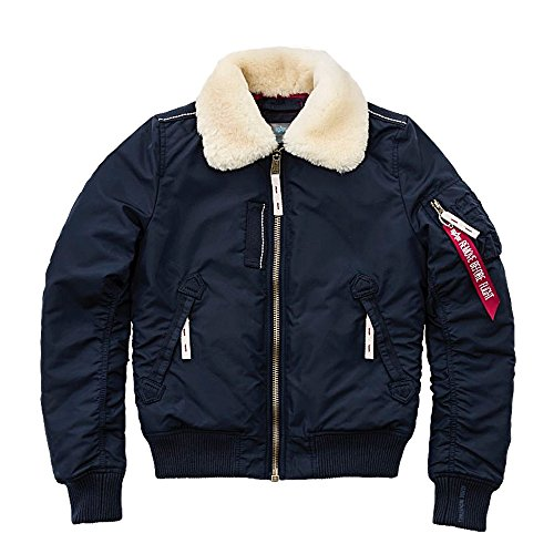 Alpha Industries - Injector - Chaquetas Bomber - Dark Blue