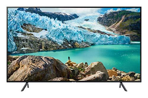Samsung UE43RU7170U Smart TV 4k Ultra HD  43' Wi-Fi DVB-T2CS2, Serie RU7170, 3840 x 2160 Pixels, Nero, 2019, [Classe di efficienza energetica A]