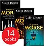 Inspector Morse Mysteries Series Collection Colin Dexter 14 Books Set Last Bus..