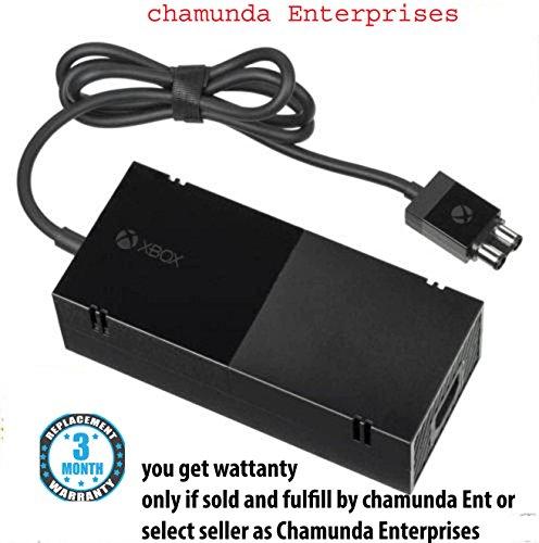New World 100% Original Microsoft Xbox One Power Supply Adaptor 220V (Black)
