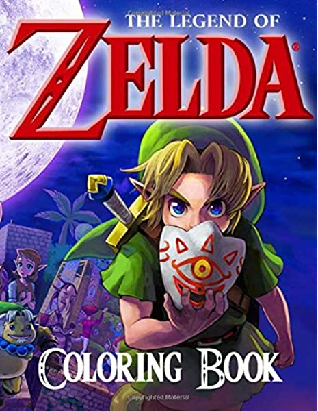 The Legend Of Zelda Coloring Book 50 Great Coloring Pages For Kids And Teens Amazon Co Uk Books Lulu 9781708583200 Books