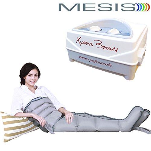 Presoterapia Mesis Xpress Beauty con 2 botas pierna, 1 faja abdominal glúteos