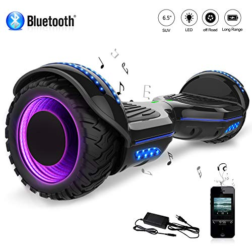 COLORWAY Hoverboard Elettrico Bluetooth Scooter a 6,5 Pollici con Bluetooth & LED Auto Balance...