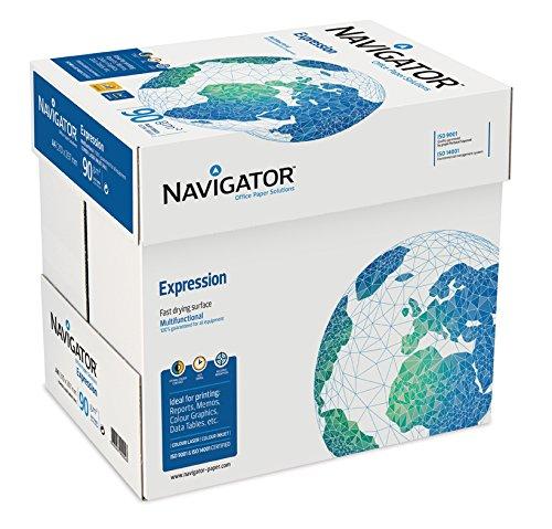 2500 Blatt Navigator Expression Inkjet / Kopierpapier 90g/m² A4 Papier