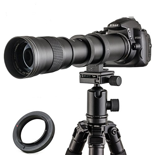 Jintu teleobiettivo zoom 420 800 mm, F/8.3 16, Full Frame, messa a fuoco manuale, per fotocamera...