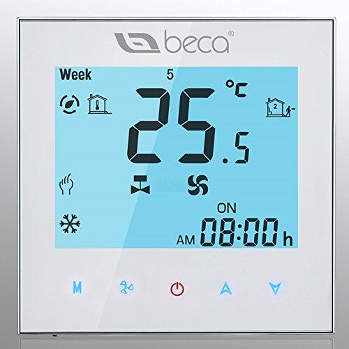 BECA-Thermostat-de-climatisation-centrale-Thermostat--quatre-chambres-Chauffage-refroidissement-programmable-HVAC-Thermostat-de-pice