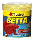 Tropical Betta Copo Forro para Lucha Peces, 50ml