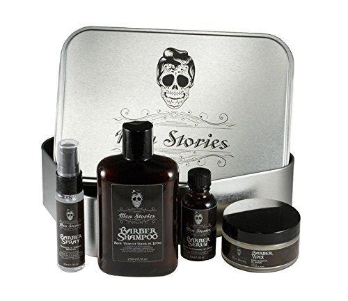 Coffret Barber Men Stories 4 produits