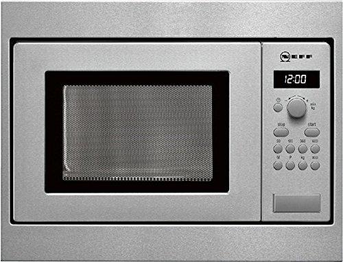 Neff HW5350N Mikrowelle aus Edelstahl, 800 Watt