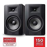 """M-Audio BX8 D3 Par - Monitor profesional de estudio bidireccional de 150 W con woofer de 8"""" para producción musical y mezcla, función Acoustic Space Control incorporado"""