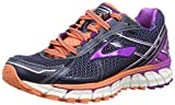 Brooks Adrenaline GTS 15, Damen Laufschuhe, Blau (Peacoat/PurpleCactusFlower/FreshSalmon), 37.5 EU (4.5 Damen UK)