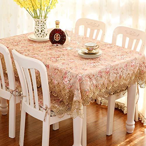 Tovaglia Home Europeo Tessuto Pizzo Tovaglia Tavolino TV Mobile A Prova di Polvere Gabe 85 * 145...