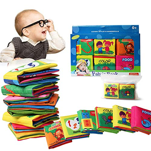 Bambino Cognition libro (6 PCS), Wholethings Intelligence Development panno Animal libro Learning &...
