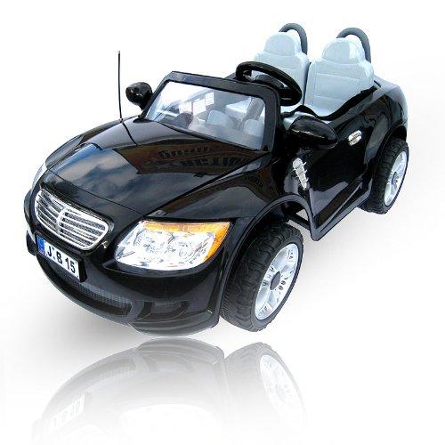#Kinder Elektroauto 2-Sitzer B15 mit 2 x 45 Watt Motor EXTRA GROß Elektro Kinderauto Kinderfahrzeug (schwarz)#