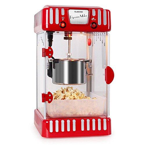 Klarstein Volcano Popcornmaschine • Popcorn-Maker • Popcorn-Bereiter • Retro-Design • 300...