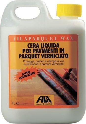 Cera per Parquet Pavimenti in Legno Fila art. Filaparquet Wax 1 litro