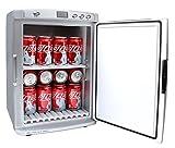 Mini-Kühlschrank Minibar Camping Box 25 Liter 220 V + 12 Volt (KFZ) + Nachtschaltung für leisen Betrieb Kühlen oder Wärmen