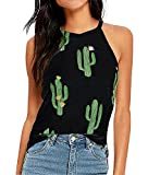 Camiseta Cactus Sin Mangas De Verano