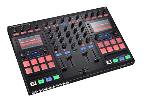 Native Instruments Traktor Kontrol S5 - Controladora DJ, color negro