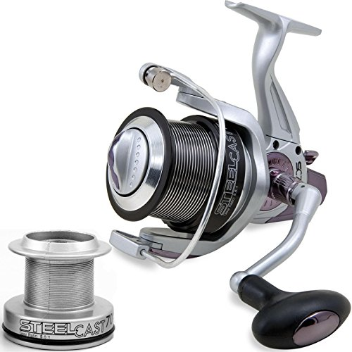 Lineaeffe Mulinello Surf Beach Steel Cast 7000 5bb Pesca Surfcasting 4+1 Cuscinetti