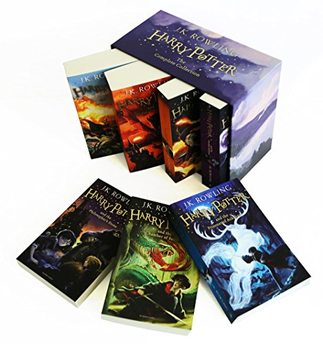 Harry Potter 7 Volume Children'S Paperback Boxed Set: The Complete Collection (Set of  7 Volumes) 7