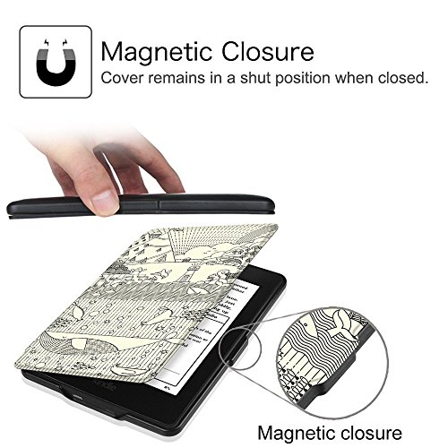 MOCA Paperwhite 1 2 3 PU Leather with Auto Wake/Sleep Flip Case Cover for Amazon Kindle 6-inch Display 6  MOCA Paperwhite 1 2 3 PU Leather with Auto Wake/Sleep Flip Case Cover for Amazon Kindle 6-inch Display 51kPoXWv6FL
