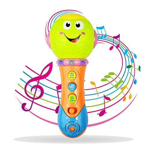 YITA - Micrófono de Juguete para niños de 1 a 3 años, Verde