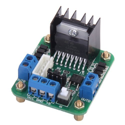 L298N Dual H-Bridge Stepper Motor Driver Board For ArduinoDC Drive Controller Board is available now from our US and UK warehouseFree shipping to US and UK in 3-6 business days ship to Canada- Brazil in 7-10 days in US warehouse ship to Euro...