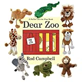Dear Zoo - Book and Finger Puppets Set