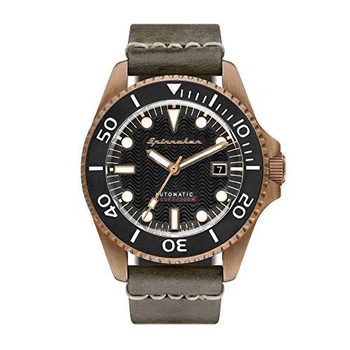 SPINNAKER Tesei (Bronze) Herren-Armbanduhr 42mm Automatik SP-5060-04