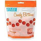 Botones de Caramelo en Naranja PME 340 g