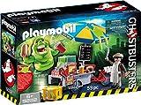 Playmobil Ghostbusters 9222 Slimer e il Carretto degli Hot Dog, dai 6 Anni